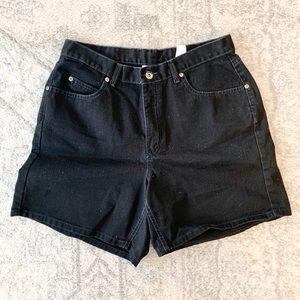 Vintage Liz Claiborne Black Mom Shorts